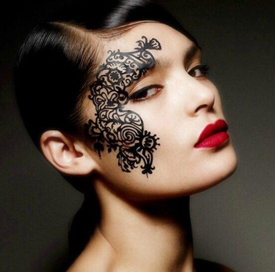 Lace Eye Shadow Stickers
