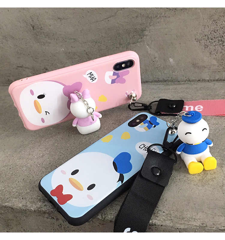 67831a20e2b9e5 Detail Feedback Questions about OnePlus 6T 3D Daisy case Cartoon phone  cover For One Plus 3 3T 5 5T 1+6 Cute Donald Duck back cover + toy stander  + 2Strap ...