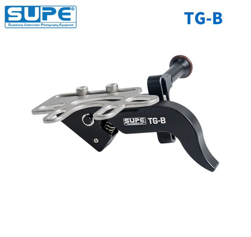 SUPE Scubalamp TG-B Shuttle Release Adjustable Universal Usage For Common Tray Scuba Diving Underwater Camera Housing System