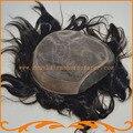 Пользовательских парик шнурка парик мужские парики горячая продажа 100% remy волосы парик мужчин замена системы бесплатная доставка