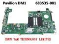 Оригинальный 683535-001 ДЛЯ HP PAVILION DM1 dm1-4000 Материнская Плата Ноутбука DANM9GMB6C0 REV: C Mainboard Гарантированность 90 Дней 100% тестирование