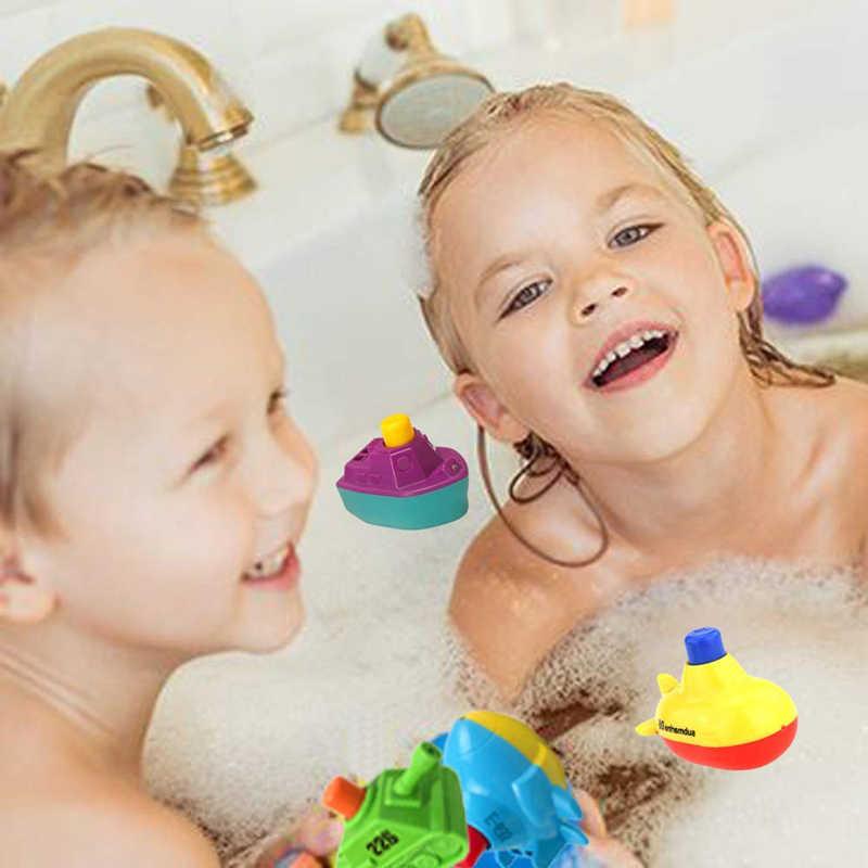 Новый горячий крутой плавательный бассейн, пляж, ванная комната, плавучие игрушки для детей ясельного возраста, Мини милый поплавок для ванной лодки