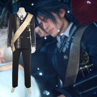 Cafiona Cool Prince Suit Final Fantasy XV Noctis Lucis Caelum Cosplay Costume Custom Made