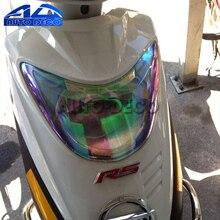 См Новый 30 см * 60 Хамелеон Автомобиль Мотоцикл Скутер свет фар хвост задний фонарь тонирование оттенок плёнки Стикеры