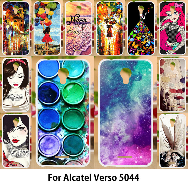 check out 1dccf 3fd16 US $0.83 16% OFF|Anunob Case For Alcatel Verso idealXCITE Cameo X 5044R  Raven LTE A574BL Silicone Soft TPU Back Covers for alcatel 5044R 5.0-in  Fitted ...