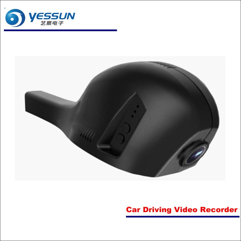 YESSUN Car DVR Driving Video Recorder For Volkswagen VW CC 2015 2016 2017 Front Camera Black Box Dash Cam - Head Up Plug Play junsun wifi car dvr camera video recorder registrator novatek 96655 imx 322 full hd 1080p dash cam for volkswagen golf 7 2015