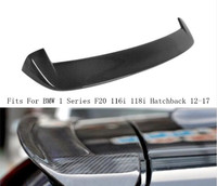 Car Carbon Fiber Rear Wing Trunk Lip Spoilers Fits For BMW 1 Series F20 116i 118i Hatchback 2012 2013 2014 2015 2016 2017