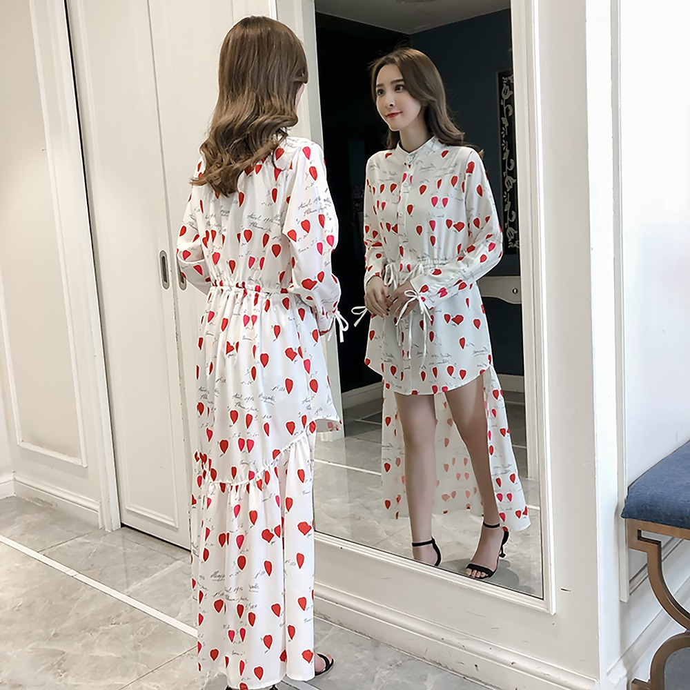 6210d8ccb92 Buy white dress red hearts and get free shipping on AliExpress.com