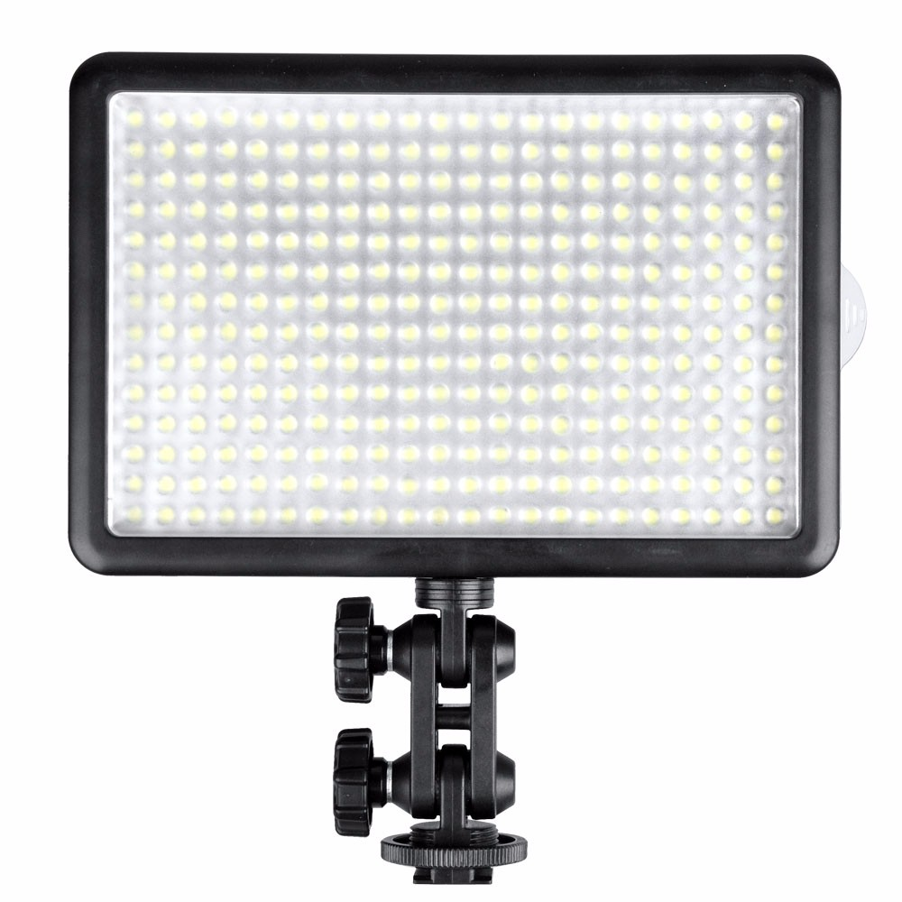 Original Godox LED308Y 3300K LED Video Light Lamp for DV Camcorder Camera + Remote Control godox led 308y 308 leds professional led video 3300k light with remote control for canon nikon camera dv camcorder