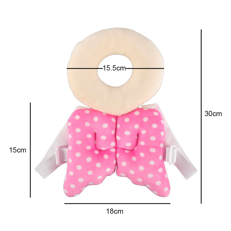Pillow Baby Bedding Toddler Baby Neck Pillow Newborn Head Protection Pad Wings Learning Walking Stick Harness Assistant Aid Safety Helmet Cushion