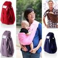 2017 9kg 10kg New Sale Solid 5 In 1 Adjustable Infant Sling Soft Natural Wrap Carrier Baby Backpack 0-3 Yrs Breathable Cotton