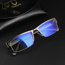 Lunettes d'ordinateur pour hommes, lunettes de jeu transparentes, lunettes de lumière bleue pour hommes, montures de lunettes, lentille claire Armacao de Oculos