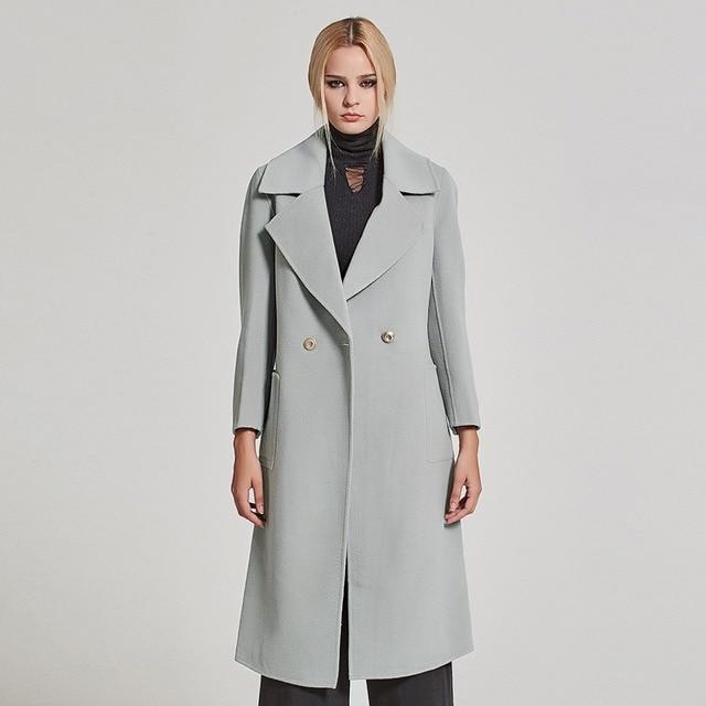 Manteau Double Style Mince Histoire Veste Femmes Face Fourrure Laine xnUA7wX