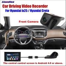 Liandlee Car DVR Front Camera Driving Video Recorder USB Plug For Hyundai ix25 / Creta Android Screen AUTO Cam Antiradar