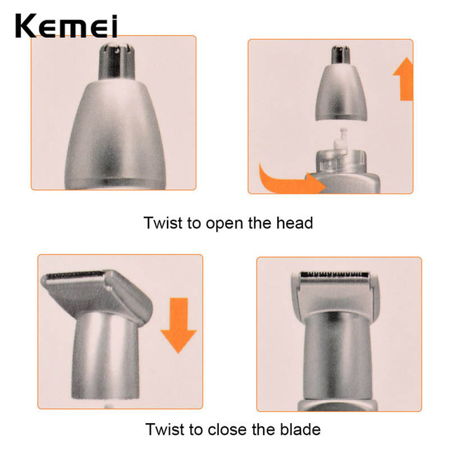 Rechargeable Nose Trimmer Ear Hair Removal Clipper Hair Cutting Machine Electric Hair Cutter Razor Temple Eyebrow Beard Trimer46 3