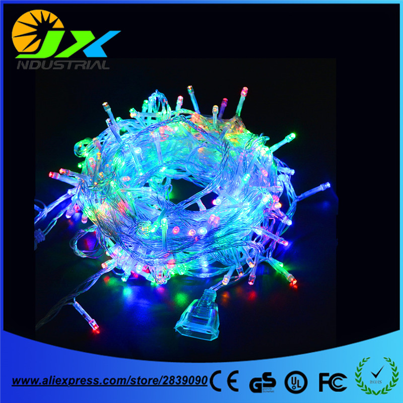 Waterproof Outdoor Home Hotel 100M LED Fairy String Lights 600 Lamps Christmas Light Party Wedding Holiday Decoration light