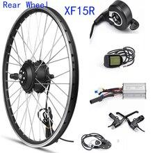 MXUS XF15R задний мотор для центрального движения колеса 48V 350W комплект для переоборудования электрического велосипеда заднего колеса электрический двигатель для велосипеда 20 26 28 дюймов 700C