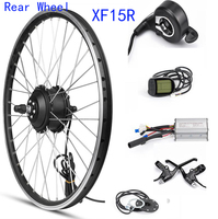 MXUS XF15R Rear Motor Wheel 48V 350W Electric Bike Conversion Kit Rear Wheel ELectric Engine For Bicycle 20 26 28 Inch 700C