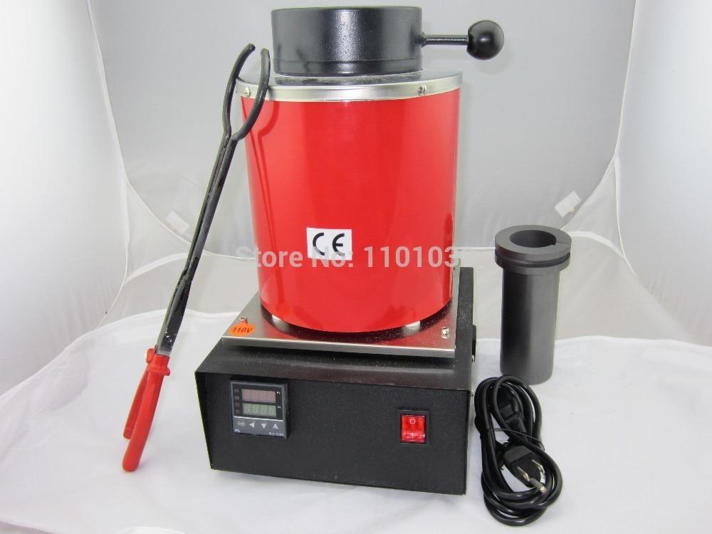 FREE SHIPPING 220v ~2kg gold, copper, silver, aluminum, iron, steel , smelting melting furnace,gold melting furnace стоимость