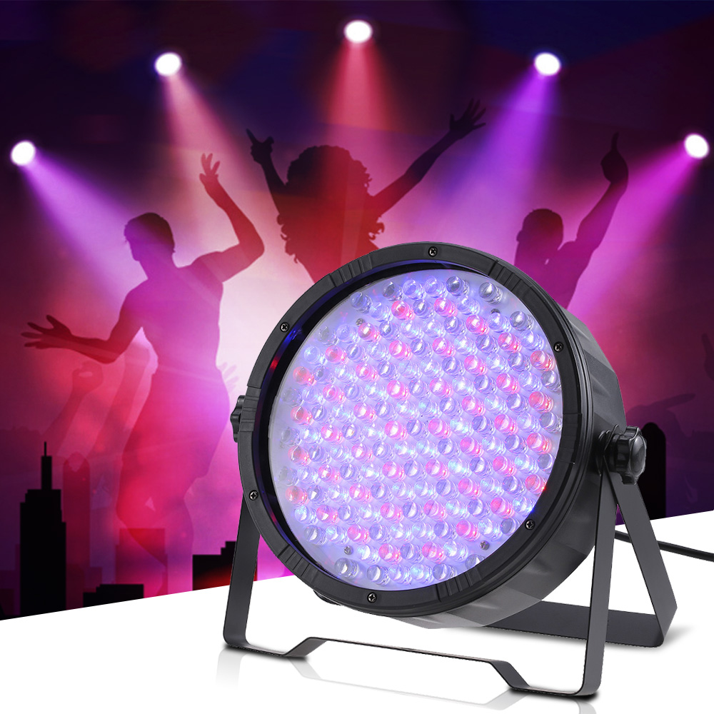 Charitable 25w Full Screen 151leds Rgb Dmx512 Dimming Wash Effect Par Stage Light Sound Activation Master Slave Strobe Auto Run Disco Ktv Stage Lighting Effect