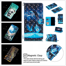 For Iphone Xs Max Flip Leather stander Wallet Card Slot X Case Xr  Cute 3d Emboss Cartoon Patterned Phone