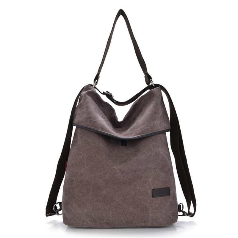 Women's Canvas Handbags Vintage Shoulder Crossbody Bags Ladies Messenger Bags Tote Bag Ladies Back Pack