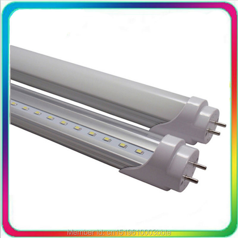 60PCS Warranty 3 Years 1.2m 18W <font><b>4ft</b></font> <font><b>T8</b></font> <font><b>LED</b></font> <font><b>Tube</b></font> Light 1200mm G13 Bulb Fluorescent Lamp Daylight Lighting image