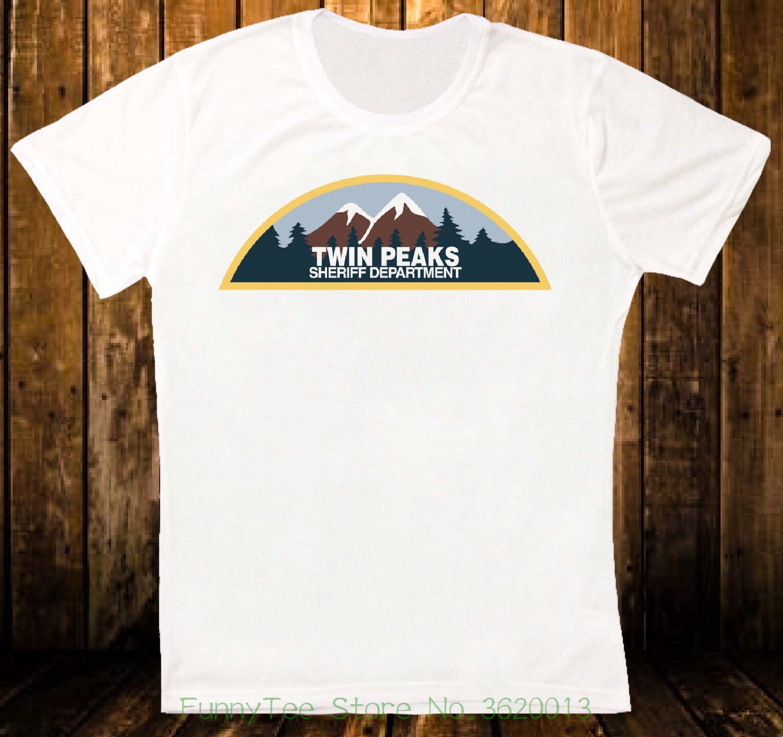 Twin Peaks Sheriff Abteilung 90s Jahre Tv Retro Vintage Hipster Unisex - T-shirt