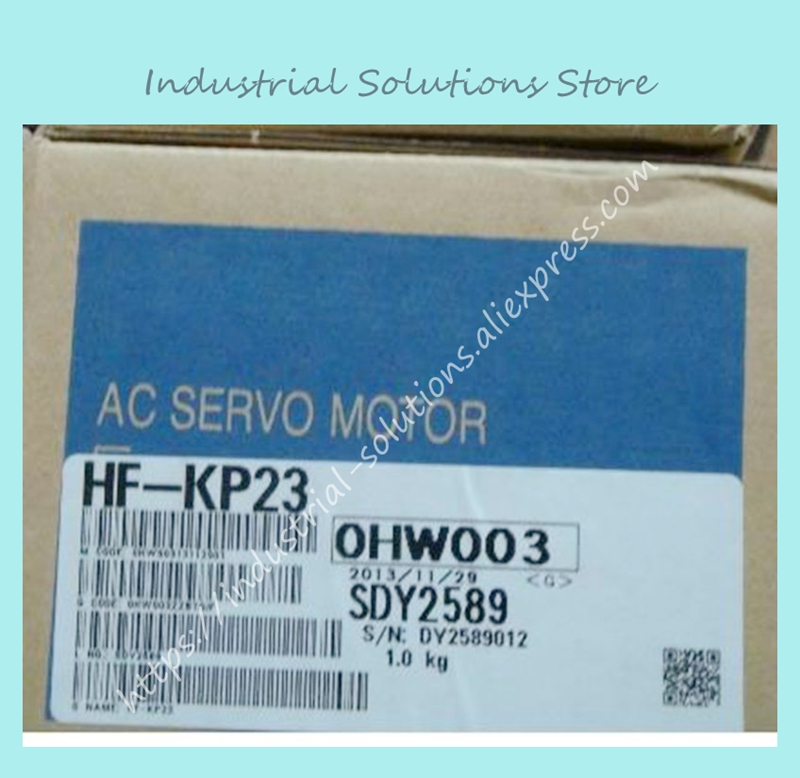 New Original AC Servo Motor HF-KP23 new original hf mp053 50w 3000r min ac servo motor