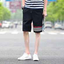 Hot 2017 Outdoor Summer Jogging Running Training GYM Flexible Sport Basketball Shorts Men Striped Hip Hop Harem Short Trousers