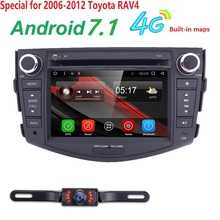 Autoradio 2 din Android 7.1 Car DVD Player For Toyota RAV 4 RAV4 2006 2007 2008 2009 2010 2011 2012 Head unit Stereo 4G Wifi SWC