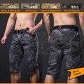 Мужская Тактические Короткие Штаны Камо Ripstop Армия Шорты Natrual Железа Тифон
