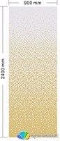 Керамика мозаика для украшения дома облицовки стен желтый цвет постепенное изменения узор 900xH2400mm
