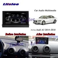 Liislee Car Android GPS Navi Navigation System For Audi A3 / MQB / 8V 2014~2018 Radio Audio Video Multimedia No CD DVD Player