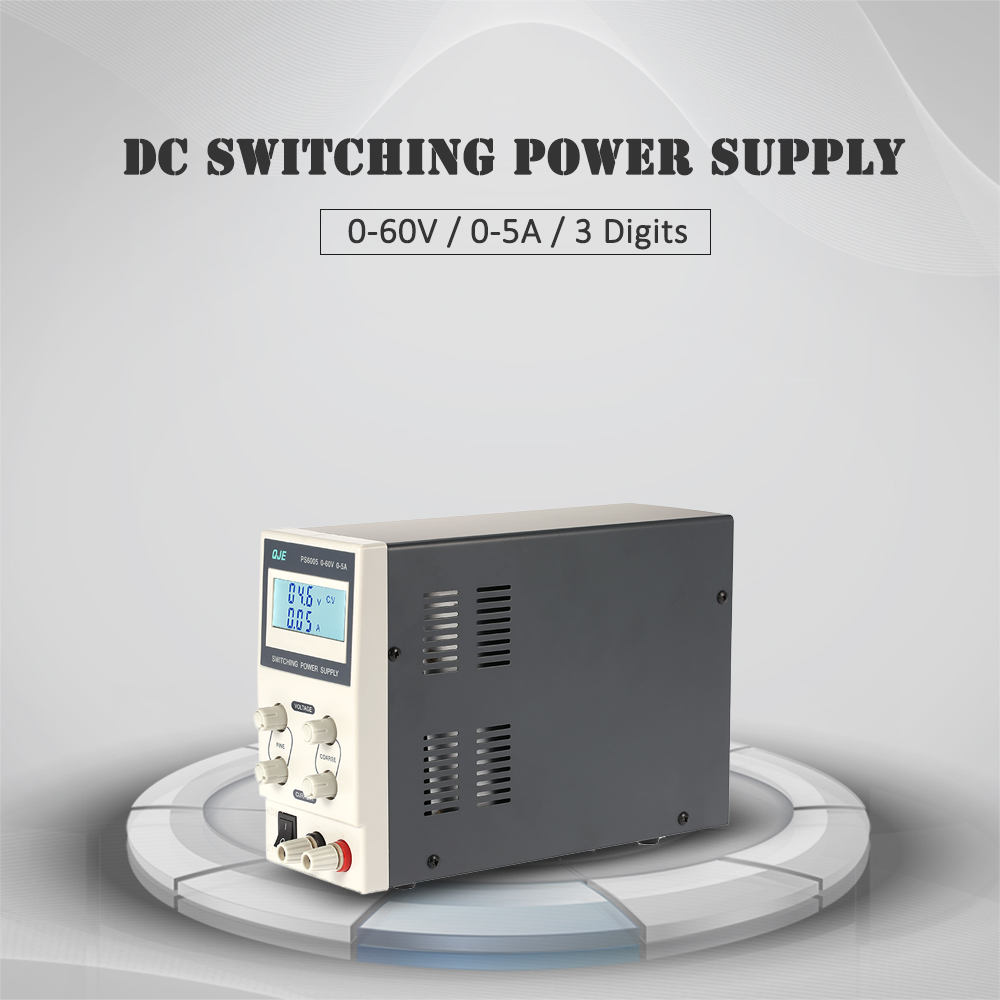 0 60v 5a 3 Digit Variable Digital Regulated Dc Switching Power Voltage And Current Supply Adjustable Output Lcd Display Euus Plug In