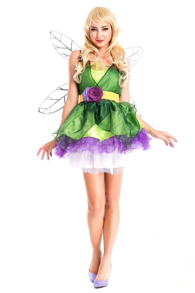 disfraces de halloween para nios elfos tinkerbell tinkerbell traje vestido de fiesta reina del anime cosplay