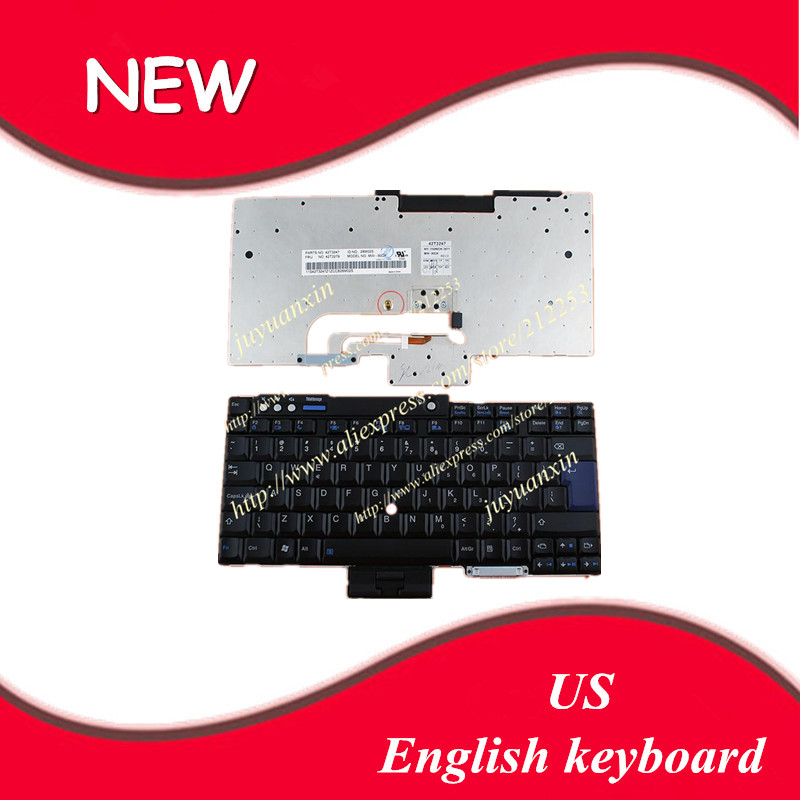 Replacement Keyboards Us Layout English Keyboard For Lenovo Thinkpad T60 T61 R60 R61 Z60t Z61t Z60m Z61m R400 R500 T400 T500 W500 W700 Laptop Keyboard Jade White