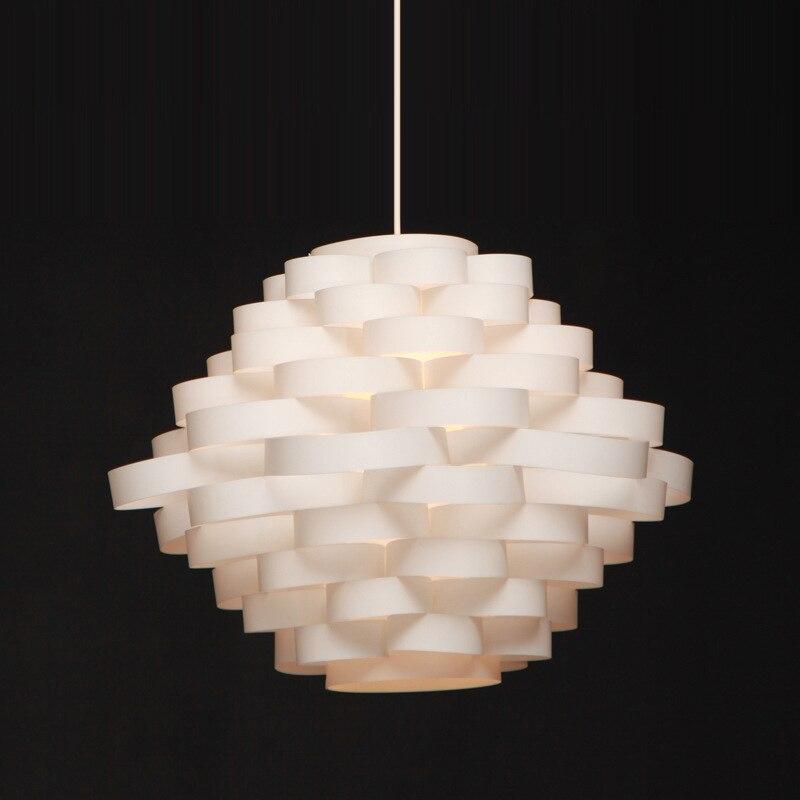 Modern Fashion Creative Original PP DIY IQ Puzzel Pendant Light For Dining Room Living Room Bedroom Led E27 Light 1962