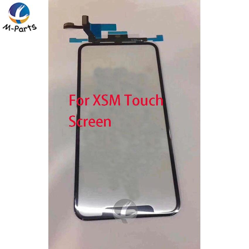 Original Écran Tactile Digitizer Pour iPhone X XS Max XR Avant Lentille En Verre Extra-Atmosphérique Panneau Avec Flex Câble Grade AAA 100% Testé OK
