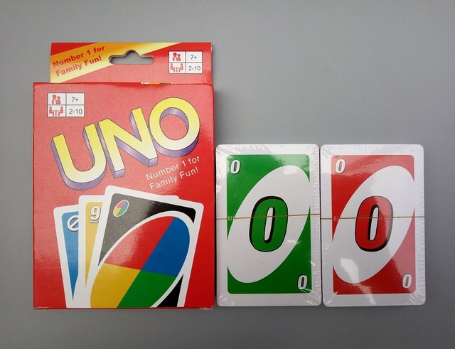 50sets Lot Family Funny Board Game Uno Fun Playing Cards 280uno Card