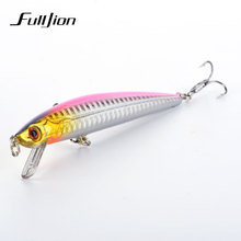 Fulljion 1pcs 11cm 8.8g Floating Minnow Fishing Lures Wobblers Crankbaits Artificial Swimbaits Hard Baits Pesca