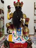 30CM TALL Custom made Taoism ZU SHI GOD statue Handmade Wood Carving 1 month Customized construction period of one month