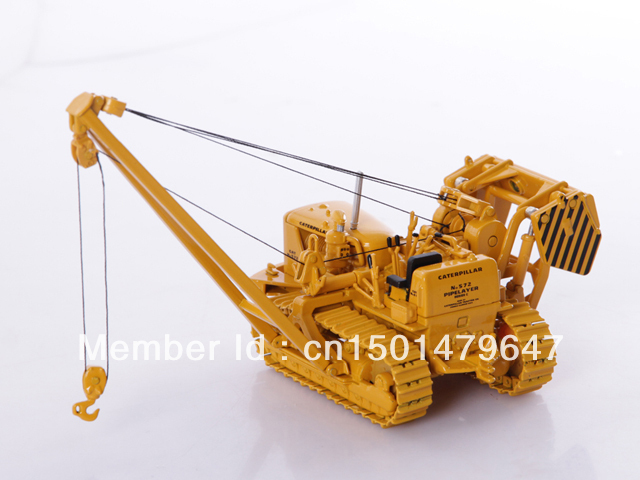 Norscot 1/50 Cat Caterpillar 572C Pipelayer Track مركبات البناء - لعبة Stk 55210