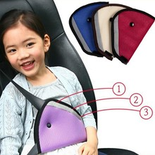 CheMeiMei Car Safe Fit Seat Belt Adjuster Car Safety Belt Adjust Device Baby Child Protector Covers Positioner Drop shipping