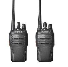 2 pçs 100% original baofeng 999s walkie talkie rádio portátil para o hotel de segurança comunicador handheld transceptor rádio BF-999s
