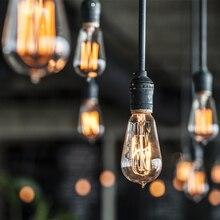 Vintage Retro Edison Bulb Light G80 G95 G125 A19 A60 ST64 T10 T45 E27 220V 40W Incandescent  bulb Edison Lamp filament ampoule