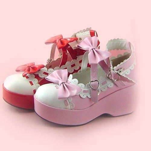 Princess sweet lolita gothic lolita shoes custom  2011 lolita platform shoes x9896 multicolor  cosplay princess sweet lolita gothic lolita shoes custom harajuku platform zipper style 9826 black