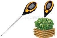 높은 품질 4 1 햇빛 및 수분 & 빛 & PH 미터 정원 식물 온도 토양 디지털 PH 테스터 미터 분석기 도구