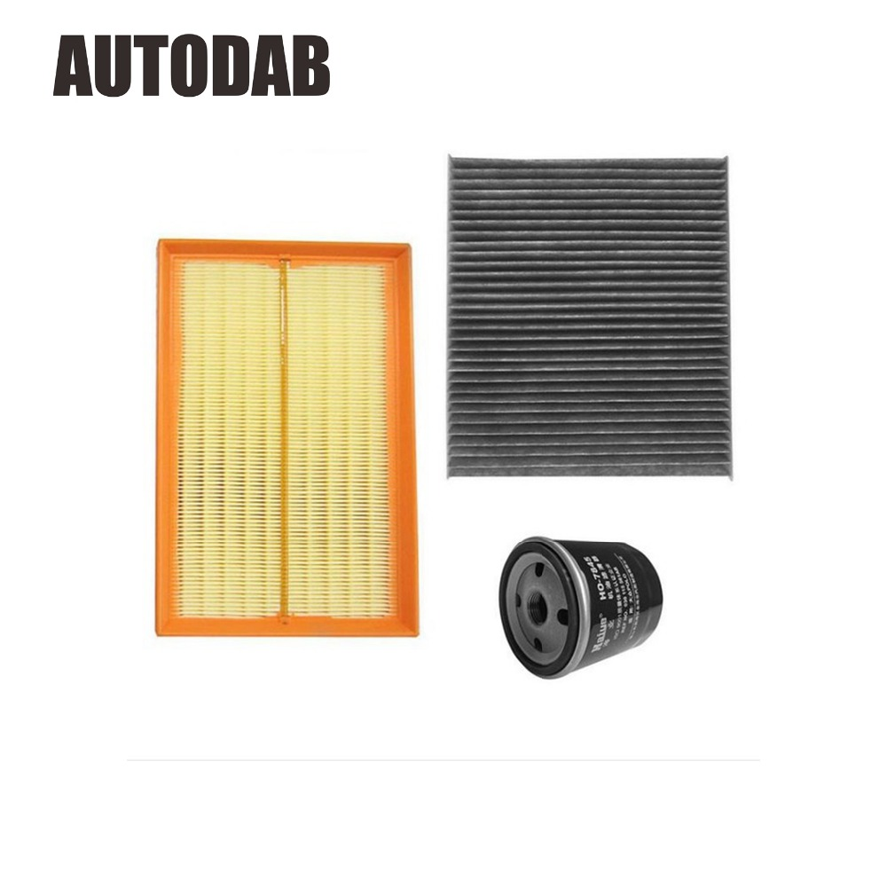 High Quality filters for 2002 2006 VW POLO 1 4 air filter oil filter cabin filter