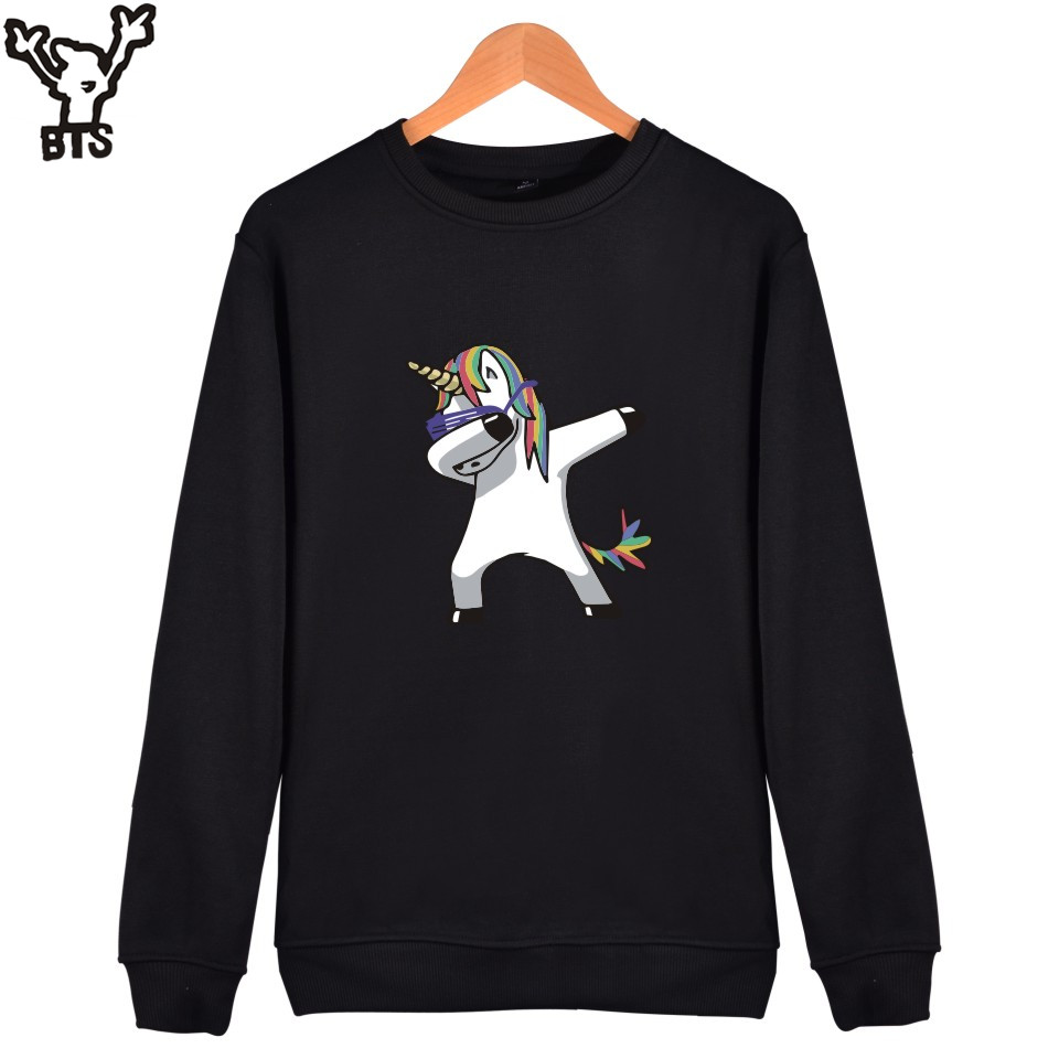 BTS Funny Animal Capless Hoodies Women Fashion Funny Animal Long Sleeve Sweatshirt Men/women Autumn And Winter Casual Clothe